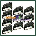 Lexmark T630, T632, T634, X630, X632, X634 High Yield Compatible Toner Cartridges - 10 Piece