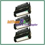 Lexmark T630, T632, T634, X630, X632, X634 High Yield Compatible Toner Cartridges - 3 Piece