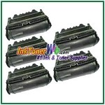 Lexmark T640, T642, T644 High Yield Compatible Toner Cartridges - 5 Piece