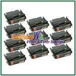 Lexmark T644 Extra High Yield Compatible Toner Cartridges - 10 Piece