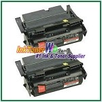 Lexmark T644 Extra High Yield Compatible Toner Cartridges - 2 Piece