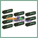 Lexmark X340 X342 High Yield Compatible Toner Cartridges - 10 Piece