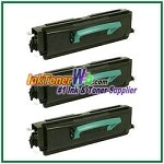 Lexmark X340 X342 High Yield Compatible Toner Cartridges - 3 Piece