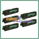 Lexmark X340 X342 High Yield Compatible Toner Cartridges - 5 Piece