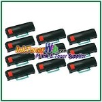 Lexmark X463, X464, X466 Extra High Yield Compatible Toner Cartridges - 10 Piece