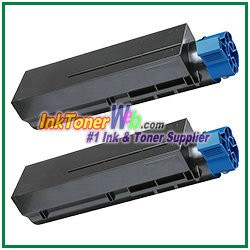 OKI Data 44992405  Compatible Black Toner Cartridge for B401 - 2 Piece