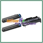 OKI Data B410 Compatible Toner Cartridge & Drum Unit - 3 Piece Combo