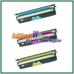 OKI Data 44250713-15 Type D1 High Yield Compatible Toner Cartridges for C110/C130n/MC160 MFP - 3 Piece Combo