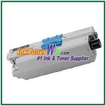 OKI Data 44469801 Compatible Black Toner Cartridge for C330