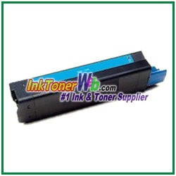 OKI Data 42127403 High Yield Compatible Cyan Toner Cartridge