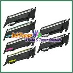 Toner Cartridge Compatible with Samsung CLT-K407S CLT-C407S CLT-M407S CLT-Y407S - 6 Piece Combo