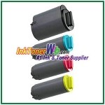 Toner Cartridge Compatible with Samsung CLP-K350A CLP-C350A CLP-M350A CLP-Y350A - 4 Piece Combo