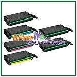 Toner Cartridge Compatible with Samsung CLT-K609S CLT-C609S CLT-M609S CLT-Y609S - 6 Piece Combo