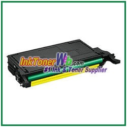 Yellow Toner Cartridge Compatible with Samsung CLP-770 CLT-Y609S