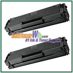 Toner Cartridge Compatible with Samsung MLT-D101S - 2 Piece