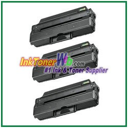 Toner Cartridge Compatible with Samsung MLT-D103L - 3 Piece