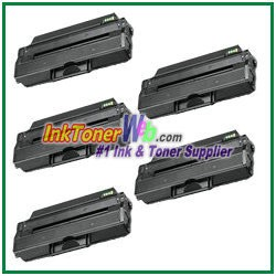 Toner Cartridge Compatible with Samsung MLT-D103L - 5 Piece