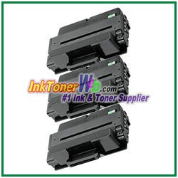 Toner Cartridge Compatible with Samsung MLT-D205L - 3 Piece