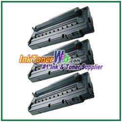 Toner Cartridge Compatible with Samsung ML-1520D3 - 3 Piece