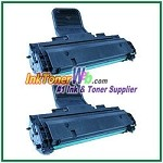 Toner Cartridge Compatible with Samsung MLT-D108S - 2 Piece