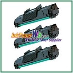 Toner Cartridge Compatible with Samsung ML-2010D3 - 3 Piece
