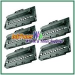Toner Cartridge Compatible with Samsung ML-2250D5 - 5 Piece