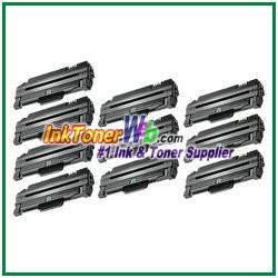 Toner Cartridge Compatible with Samsung MLT-D105L - 10 Piece