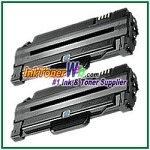 Toner Cartridge Compatible with Samsung MLT-D105L - 2 Piece