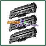 Toner Cartridge Compatible with Samsung MLT-D105L - 3 Piece
