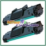 Toner Cartridge Compatible with Samsung SCX-4521D3 - 2 Piece