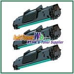 Toner Cartridge Compatible with Samsung SCX-4521D3 - 3 Piece