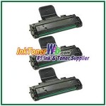 Toner Cartridge Compatible with Samsung SCX-D4725A - 3 Piece