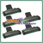 Toner Cartridge Compatible with Samsung SCX-D4725A - 5 Piece
