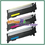 Samsung CLT-C404S CLT-M404S CLT-Y404S Compatible Color Toner Cartridge - 3 Piece combo
