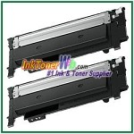 Samsung C430/C480 CLT-K404S Black Compatible Toner Cartridge - 2 Piece