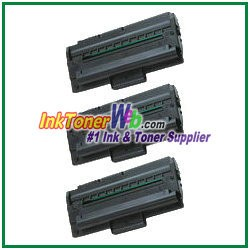 Xerox 109R00725 Compatible Toner Cartridge for Phaser 3130, 3120, 3115 - 3 Piece
