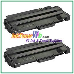 Xerox 108R00909 Compatible High Yield Toner Cartridge for Phaser 3140, 3155, 3160 - 2 Piece