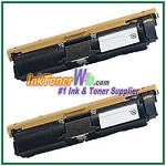 Xerox 113R00692 Compatible High Yield Black Toner Cartridge for Phaser 6120 series - 2 Piece