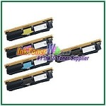 Xerox 113R00692-95 Compatible High Yield Toner Cartridges for Phaser 6120 series - 5 Piece Combo