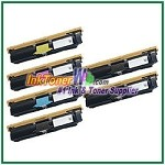 Xerox 113R00692-95 Compatible High Yield Toner Cartridges for Phaser 6120 series - 6 Piece Combo