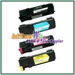 Xerox 106R01452-55 Compatible Toner Cartridges for Phaser 6128MFP series - 4 Piece Combo