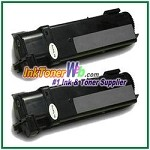 Xerox 106R01281 Compatible Black Toner Cartridge for Phaser 6130 series - 2 Piece