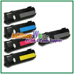 Xerox 106R01278-81 Compatible Toner Cartridges for Phaser 6130 series - 5 Piece Combo