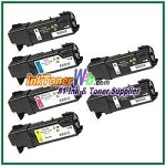 Xerox 106R01477-80 Compatible Toner Cartridges for Phaser 6140 series - 6 Piece Combo