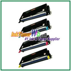 Xerox 113R00723-26 Compatible High Yield Toner Cartridges for Phaser 6180 series - 4 Piece Combo