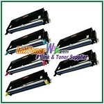 Xerox 113R00723-26 Compatible High Yield Toner Cartridges for Phaser 6180 series - 6 Piece Combo