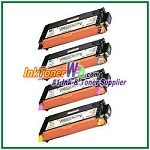 Xerox 106R01392-95 Compatible High Yield Toner Cartridges for Phaser 6280 series - 4 Piece Combo