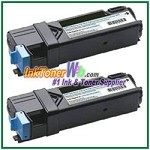 Xerox 106R01597 Compatible High Yield Black Toner Cartridge for Phaser 6500 series - 2 Piece