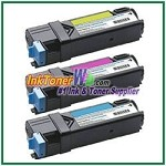 Xerox 106R01594-96 Compatible High Yield Toner Cartridges for Phaser 6500 series - 3 Piece Combo