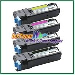 Xerox 106R01594-97 Compatible High Yield Toner Cartridges for Phaser 6500 series - 4 Piece Combo